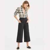 POLO RALPH LAUREN Cotton-Linen Wide-Leg Pant 拉夫劳伦 棉质阔腿裤 $119.99(约768元)