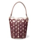 反向海淘更便宜!MARNI Tricot 编织皮革帆布手提包 £687.5(约5,880元)