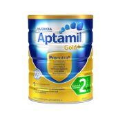 【补货】Aptamil 爱他美 金装2段婴幼儿奶粉 900g €26.99(约203元)