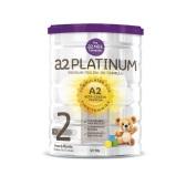 【包税直邮】A2 白金2段婴幼儿配方牛奶粉 6-12个月 900g 38.53澳币(约189元)