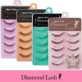 满额免邮中国!Diamond Lash 纯手工自然假睫毛 5对装 1,279日元(约76元)