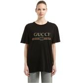 GUCCI 古驰 logo 黑色 短袖 $531(约3,659元)