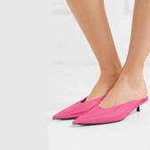 BALENCIAGA Knife 皮革穆勒鞋 £350(约3,081元)