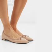 PRADA 漆皮芭蕾平底鞋 £383.4(约3,364元)
