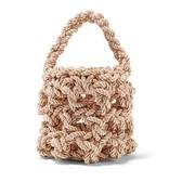 【小众精品】REJINA PYO Sylvia 编织缎布单肩包 £213(约1,872元)