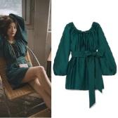 【Savi 同款】 KALITA Pegasus 棉质真丝混纺迷你连衣裙 £460(约4,021元)