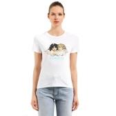 【蔡依林同款】FIORUCCI 白色天使印花T恤 $119(约815元)