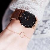 CLUSE  玫瑰金色编织表链简约时尚腕表 CL30016 £69.21(约623元)