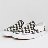 Vans 经典黑白棋盘格运动鞋 $55(约377元)
