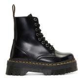 补货码全~Dr. Martens Black Jadon Boots 女款厚底马丁靴 $170(约1,167元)