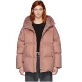 Moncler Pink Down Nerium 粉色羽绒服 $1,795(约12,328元)