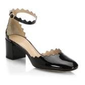 Chloé 花边装饰绑带休闲中跟鞋 $399.99(约2,775元)