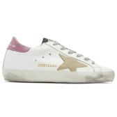 Ssense 独家款 Golden Goose SSENSE superstar 香芋粉尾小脏鞋 $395(约2,736元)