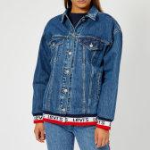 免邮 Levi's Baggy 女士串标下摆牛仔夹克 £63(约560元)