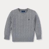 Ralph Lauren 男童灰色毛衣 $18.35(约128元)
