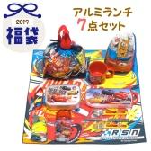 日本乐天市场Rakuten:Disney 迪士尼 汽车总动员 2019新春福袋餐盒7件套 6,240日元(约383元)