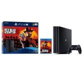 史低价!【2018网络周】Sony 索尼 PlayStation Slim 1TB+荒野大镖客2 +额外游戏手柄 $199(约1,383元)