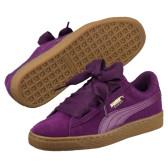 【黄金码有】Puma 彪马 Suede Heart 大童款 蝴蝶结板鞋 $34.99(约243元)