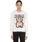 MOSCHINO 小熊白色帽衫 $390(约2,676元)