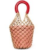 STAUD Moreau 绳结编织皮革水桶包 £217(约1,895元)