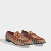 Burberry Moorley 棋盘格 莫卡辛鞋 $372(约2,553元)