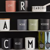The Hut:精选 Design Letters 来自丹麦的字母水杯 低至4折