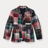 Ralph Lauren BOYS 2-7 拼接西装外套 $51.59(约356元)
