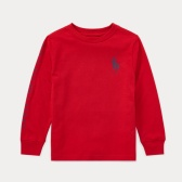 Ralph Lauren 大童款红色长袖 $8.99(约62元)
