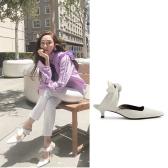 郑秀妍同款 The Row White Coco Mules 白色穆勒鞋 $795(约5,362元)