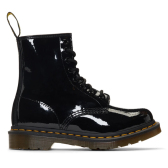 35和36码有货~Dr. Martens Black Patent 1460 Boots 女士漆皮马丁靴 $125(约851元)