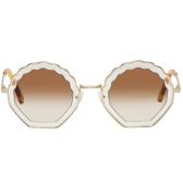 Chloé Gold Tally Sunglasses 太阳镜 $266(约1,812元)