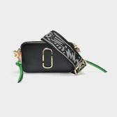 Marc Jacobs 浅粉+深黑 拼色相机包 $207(约1,423元)