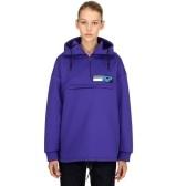 PRADA 紫色防水帽衫 $332.5(约2,278元)