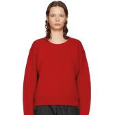 Acne Studios 红色羊毛毛衣 $285(约1,941元)