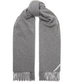 ACNE STUDIOS Canada 流苏羊毛围巾 £79.2(约691元)