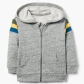 Gymboree Striped Hoodie 条纹拉链卫衣 $8(约54元)