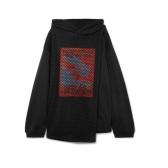 AMBUSH® 网布拼接印花纯棉平纹布帽衫 £378.75(约3,304元)
