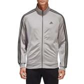 【美亚自营】adidas 阿迪达斯 Essentials 男士经典三道杠拉链立领夹克卫衣 $20(约134元)