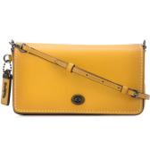 COACH Dinky 黄色斜挎包 ¥1,680