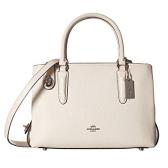 这款还有货~COACH Pebbled Brooklyn 28 Carryall 白色真皮手袋 $189.99(约1,277元)