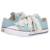 2 little kid ≈ 20.6cm最后一双~Converse Kids Chuck Taylor® All Star® Star Big Eyelets Ox 女童款帆布鞋 $22.99(约154元)
