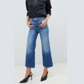 J Brand 高腰阔腿牛仔裤 £120(约1,065元)