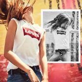 The Hut:精选 Levi's 李维斯 男女款T恤专区 两件仅需¥301,凑单可免邮