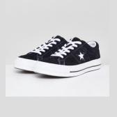 Converse One Star 匡威经典黑色麂皮帆布鞋 $56.25(约389元)