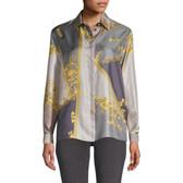 Versace Collection 复古丝绸印花衬衫 $314.99(约2,167元)