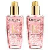 每瓶约221.5元!Kérastase 卡诗 白茶玫瑰护色 护发精华油 100ml*2瓶 ¥474.24