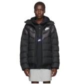 Nike 黑色棉服 $195(约1,378元)