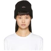 Noah NYC 黑色 logo 毛线帽 $30(约214元)