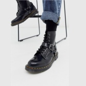 Dr Martens 1460 harness 8 eye 亮皮马丁靴 ¥1,073.86