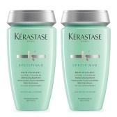 【即将下架】Kérastase 卡诗 无硅油双重功能头皮洗发水 250ml×2 ¥210.8
